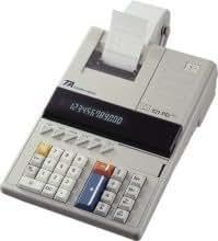 1 x Triumph-Adler calculadora 121PD plus Euro impresora 121PD + Euro