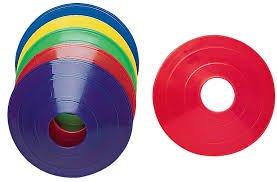 【オンラインショップ】 トレーニングコーン – 12 12 Assorted Assorted colors-9インチ高耐久性ビニールCones – B01A44ZJF2, ロハス食品:19898433 --- mswebserv.com