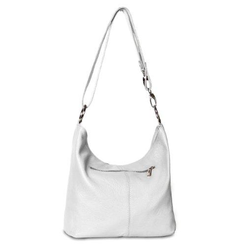 CASPAR Taschen & Accessoires - Bolso al hombro para mujer - blanco