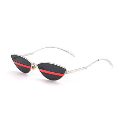 UV400 de Movement Frame Fashion Color HOME Espejo Anti Drive QZ 2 Sol Metal Decorativo Polarized Gafas Light 5 Style Vintage Harajuku pwSEqTx1q