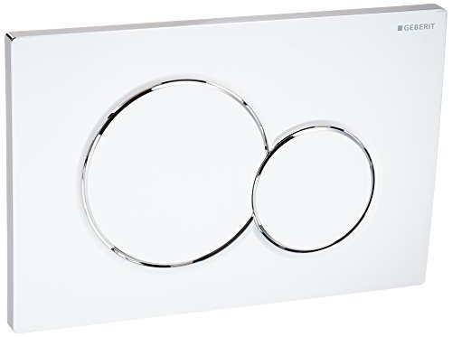 Geberit 115.770.21.5 Samba Dual Flush Actuator Chrome by Geberit