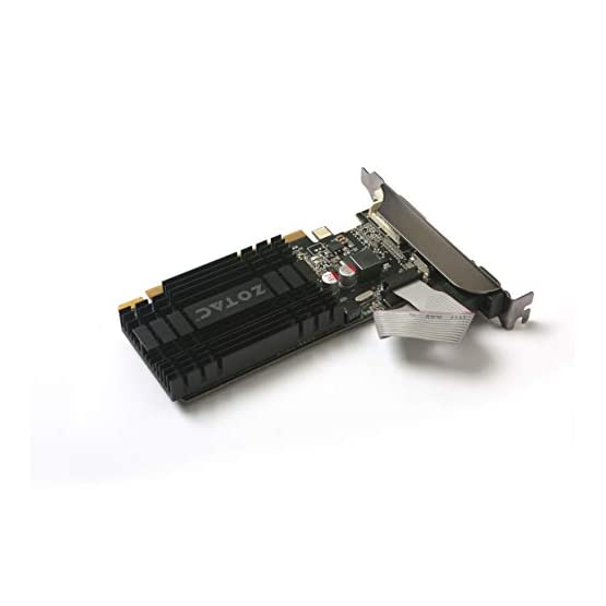 ZOTAC GeForce GT 710 2GB DDR3 PCI-E2.0 DL-DVI VGA HDMI Passive Cooled Single Slot Low Profile Graphics Card (ZT-71302… 31w5 GO3IQL. SS555