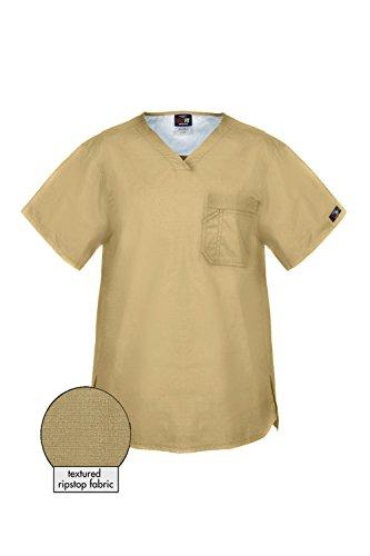 m Quality Rip Stop One Pocket Scrub Top(MENTOP-MED,LBN-XL) (Drop Zone Army Navy)