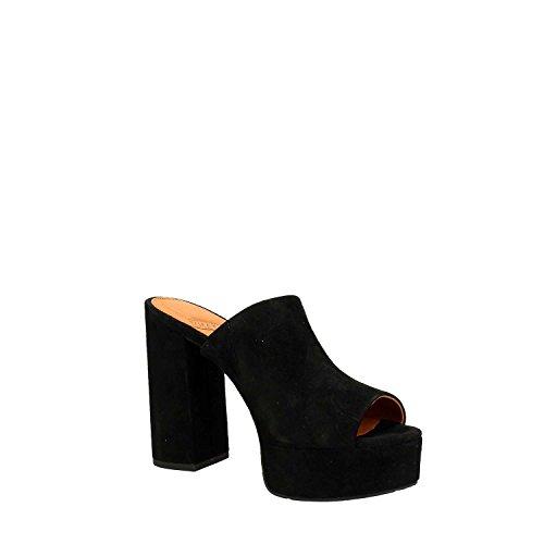 What For - Sandalias de vestir para mujer negro