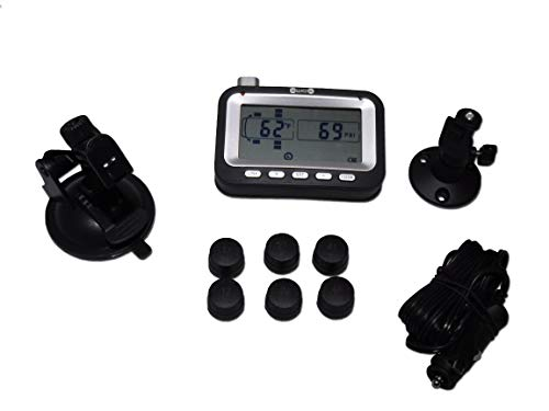Bellacorp Tire Pressure Monitoring System TPMS 6BU (6) Sensors for Truck, RV, Heavy Pickup, Dually or Box Truck -