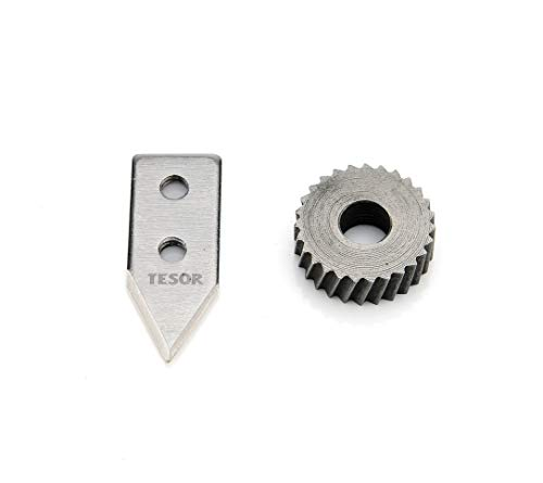 Replacement Parts - Knife/Blade & Gear Compatible With Edlund Commercial Can Openers (#2 Size - 1 pack) ()