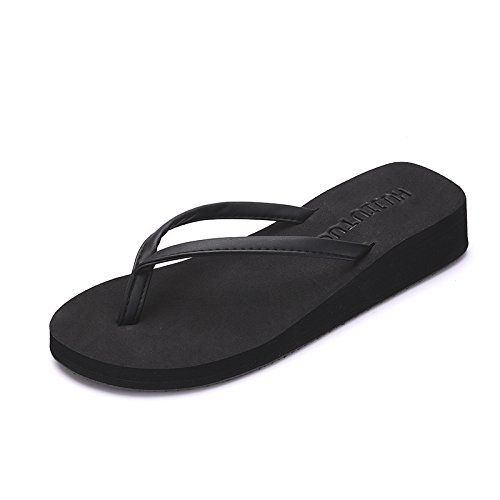 BAOZIV587 - Zapatillas de madera contrachapada, verano, sandalias ...