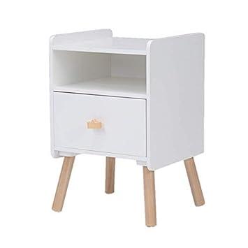 Table de chevet en bois pour enfants Table de chevet avec tiroirs ...
