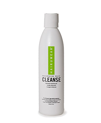 HairUWear 'Cleanse' Shampoo for Wigs & Hair Extensions, 8 Ounce