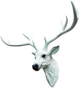 工芸品彫刻家動物装飾壁芸術装飾廊下背景樹脂複数色オプション GBYGDQ (Color : A, Size : 76cm×52cm)