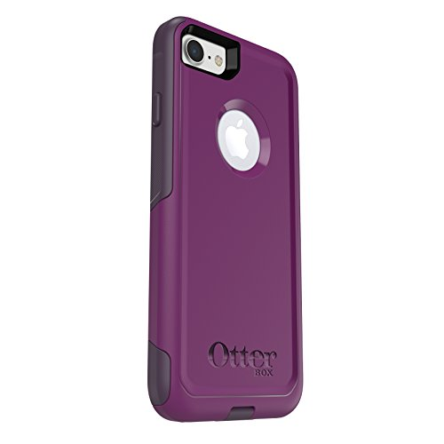 OtterBox COMMUTER SERIES Case for iPhone 8 & iPhone 7 (NOT Plus) - Frustration Free Packaging - PLUM WAY (PLUM HAZE/NIGHT PURPLE)