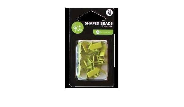 Green Arrows Ki Memories Shaped Brads
