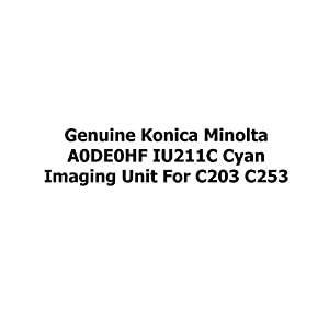 Genuine Konica Minolta A0DE0HF IU211C Cyan Imaging Unit for C203 C253
