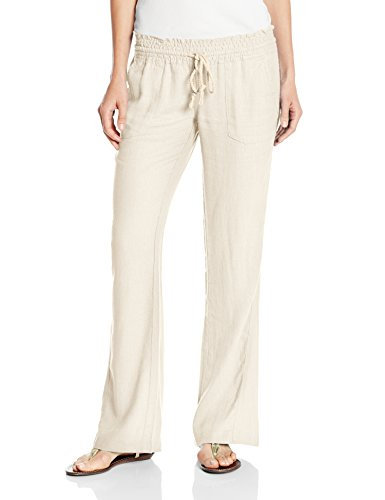 Roxy Women's Oceanside Pant, Stone, ()