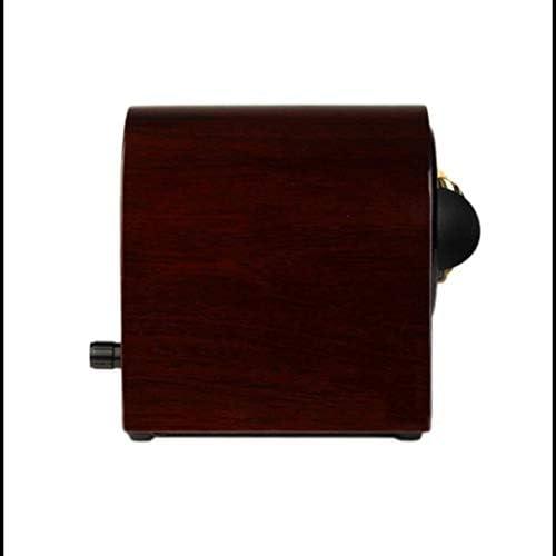 ワインダーウォッチワインダーボックス自動ウォッチワインダー木箱ピアノはスーパー静かな、メンズ腕時計ストレージ]スピンボックスをペイント