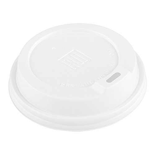 500-CT Disposable White Lid for Coffee and