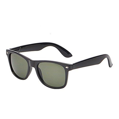 JM Retro Classic Original Mirrored Lenses Spring Hinge Wayfarer Sunglasses - Original Classic Sunglasses Wayfarer
