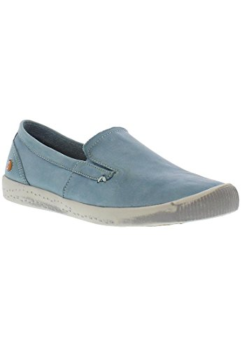 Softinos Damen Ita298sof Pumps Pastel Blue