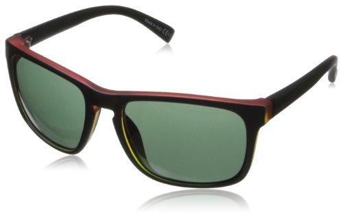 VonZipper Lomax Oval Sunglasses,Vibrations Satin,55.5 - Von Zipper Mens Sunglasses