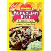 Sun-Bird MONGOLIAN BEEF Asian Seasoning Mix 1oz (10-pack) Thank you for using our service