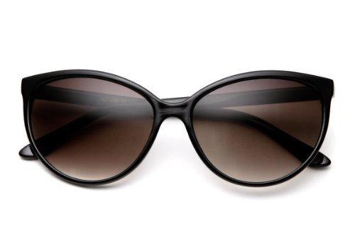 Gorgeous Womens Cat Eye Sunglasses Vintage Retro Black - Sunglasses Dc Women For