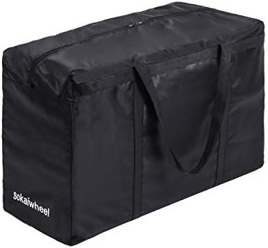 [スポンサー プロダクト]Sokaiwheel トートバッグ 大容量 ボストンバッグ 大容量 大型バッグ 大きいバッグ 154L