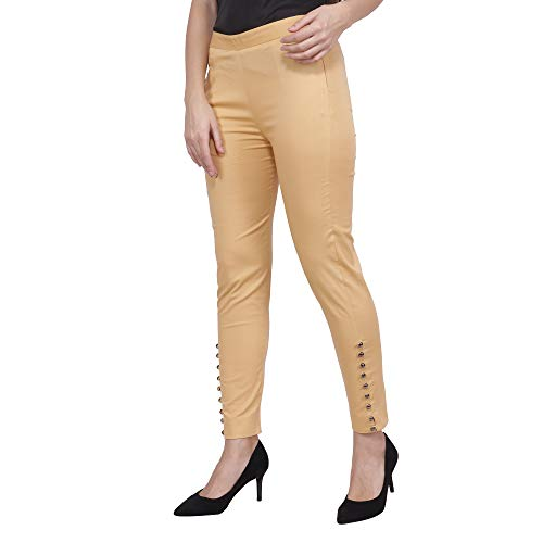 POPWINGS Women's Relaxed Fit Trousers