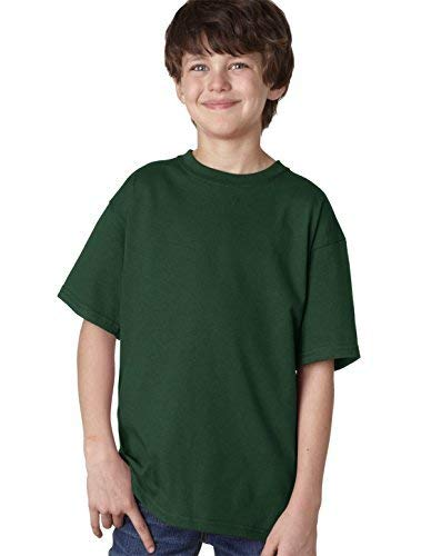 Fruit Of The Loom Lofteez Hd Youth Tee (Black) (XS)