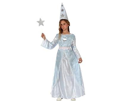 Atosa-10801 Disfraz Hada Madrina, Color blanco, 10 a 12 años ...