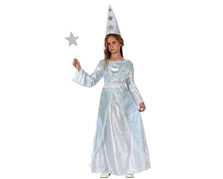 LIBROLANDIA Disfraz de mago para niña, talla 5-6 años (10799)