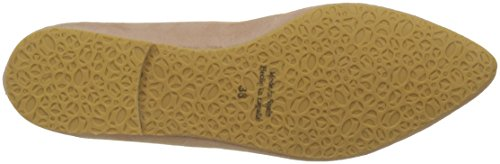 KMB Women's Pan Closed Toe Ballet Flats Pink (Molokai 13) CIiLei