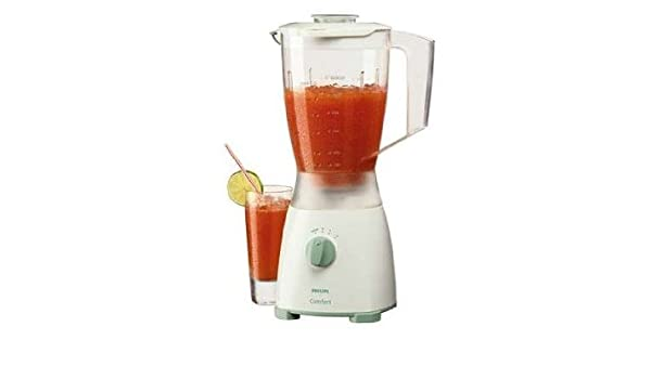 Philips Comfort blender HR 1720/06, Blanco, Verde, 350 W, 220-240V ...