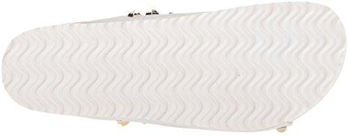 Scarpe Da Donna Sporche Scarpe Da Ginnastica Qiana Sandalo Con Luccichio Bianco