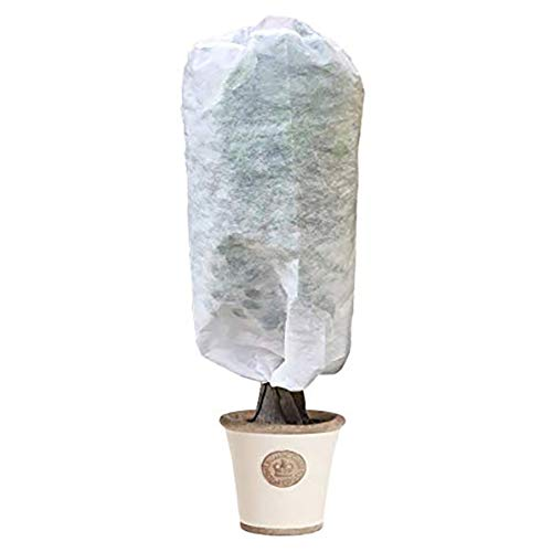 UniEco Plant Cover – Reusable Plant Protector Bag with Drawstring – Frost Blanket for Cold Weather, Dia 42″ x H 26″