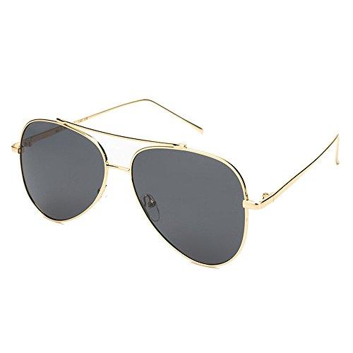 Hombre de Marco Yxsd SunglassesMAN Sol Gray Protección para UV Aviator de Color Gafas Gray 400 polarizadas xYxq8wUSz