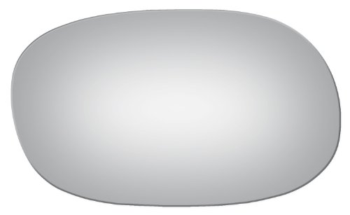 Flat Driver Or Passenger Right Side Replacement Mirror Glass for 1973-1977 Oldsmobile Cutlass Supreme (Rwd) ()