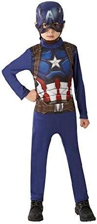 Marvel Avengers Disfraz Capitan America Niño, Disfraces de ...