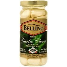 Cloves Of Garlic - Bellino - Peeled Garlic Cloves, (2)- 7.75 oz. Jars