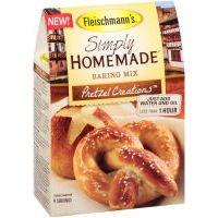 - Fleischmann's Simply Homemade Pretzel Creations Baking Mix (Case of 6)