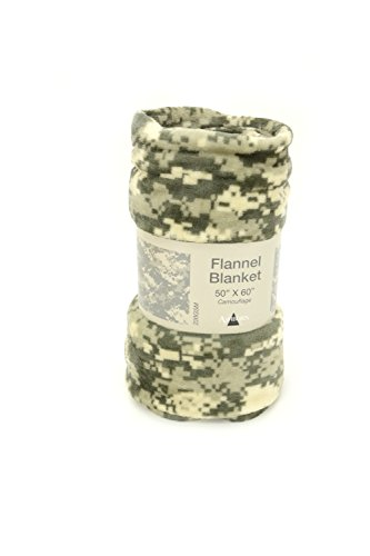 Camouflage Flannel (Flannel Camouflage Blanket 50