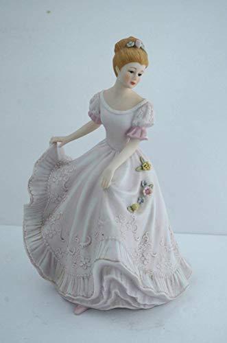 1993 Homco Masterpiece Porcelain Figurine - Lady Caroline