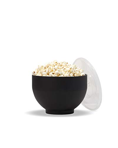 W&P WP-POP-Bowl Popcorn Popper, 9.3 Cups, Black