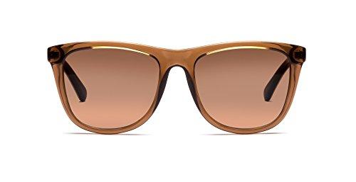 Michael Kors MK6009 301113 Brown Algarve Wayfarer Sunglasses Lens Category 2 - Michael Kors Wayfarer