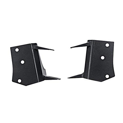AUXMART A-Pillar Mounting Brackets LED Light Bar Dual Work Lights Fog Lights Fit Jeep Wrangler TJ 1997-2006 (1 Pair) ()