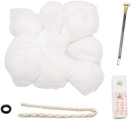 Popluxy Zippo - Mechero de reparación (algodón): Amazon.es ...