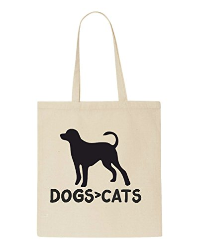 Themed Natural Sublimation Dogs Sub Than Greater Shopper Animal Bag Cats Cute Tote Are Funny BSBqxO0F