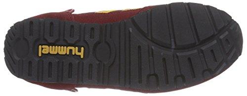 Hummel HUMMEL REFLEX LO - zapatilla deportiva de material sintético Unisex adulto rojo - rojo (Cabernet 3661)