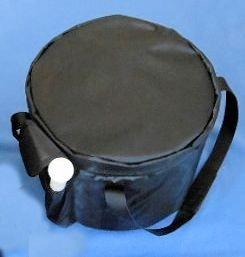 Crystal Singing Bowl Carry Case Bag for sizes 7''-12'' by SACRED SOUNDS Singing Bowls