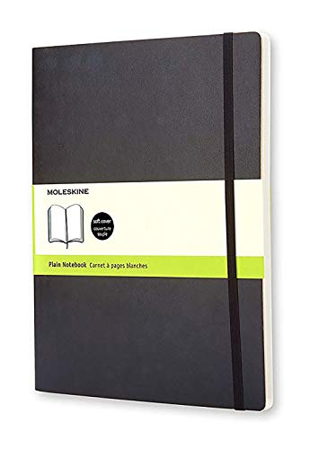 Moleskine Classic Notebook, Soft Cover, XL (7.5