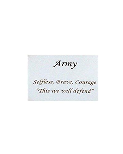 Jewelry Nexus adulte Armée Bracelet jonc inspirants, Crise, Brave, Courage Cette nous Protéger